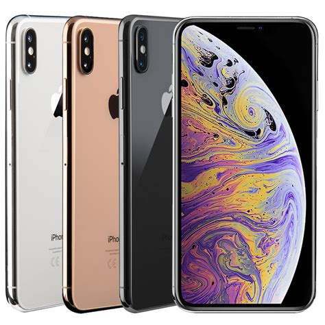 apple iphone xs max 512gb sim free mobile phone costco uk
