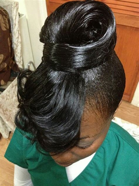 sculptured ponytail hairstyles feathered bang with sculpted ponytail yelp