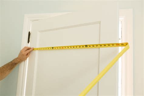 How To Measure Interior Doors Measuring Doors Remove The Door Slab From The Hinges For Easier Measuring Quot Quot Sc Quot 1 Quot St Quot Quot Curtis