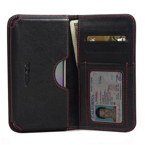 Leather Samsung Galaxy J3 by Samsung Galaxy J3 Leather Wallet Sleeve Stitch