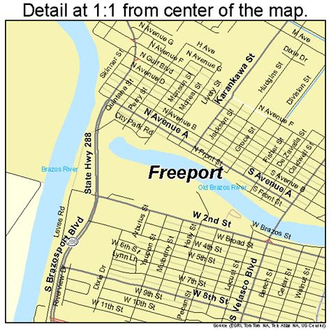 freeport texas map freeport texas map 4827420