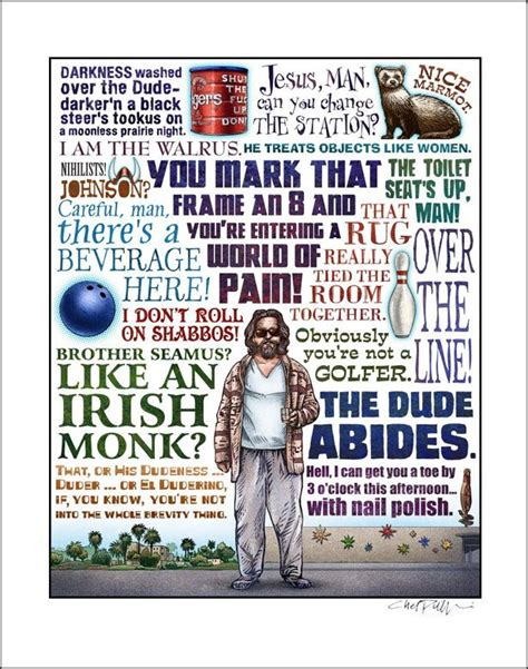 the dude quotes big lebowski quotes humor generally stuff