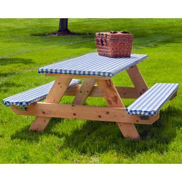 picnic table cover set elasticized picnic table cover set never worry about the