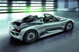 Porsche Hybrid Supercar Porsche 918 Spyder Hybrid Supercar U S Price Announced
