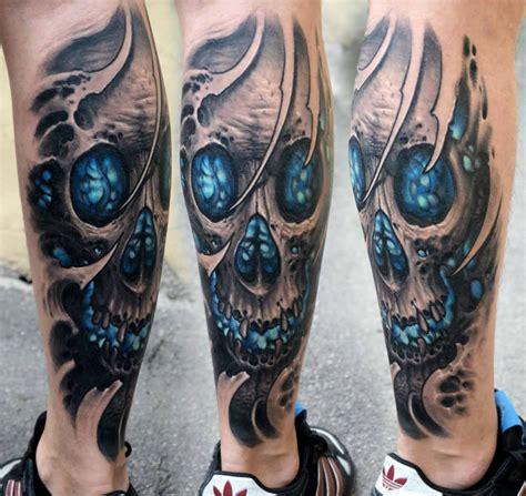 biomechanical tattoos  stepan negur scene
