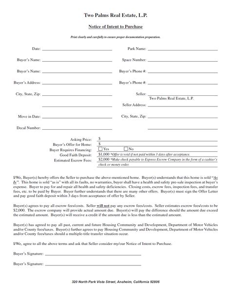 Letter Of Intent To Purchase Hotel 100 letter of intent to purchase physician