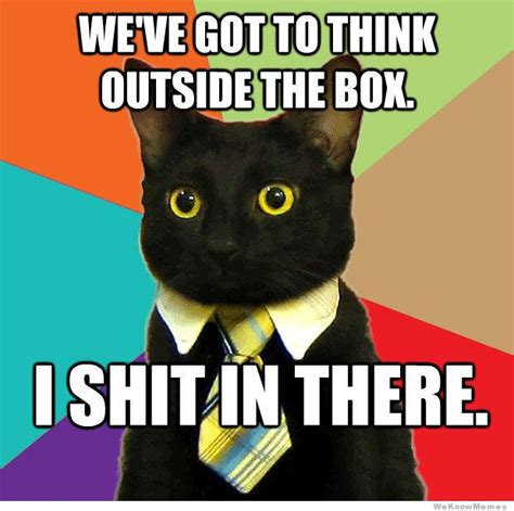 Thinking Meme - the gallery for gt business cat meme box