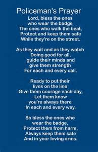 Policeman s prayer wood sign or print by heartlandsigns on etsy
