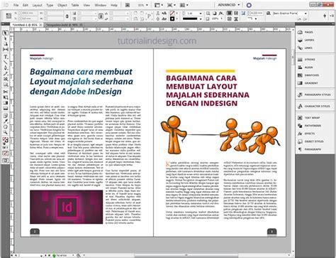 artikel layout desain agar artikel menjadi majalah indesign kelas desain