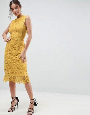 Meya Maxi Mustard occasion wear gowns black tie dresses asos