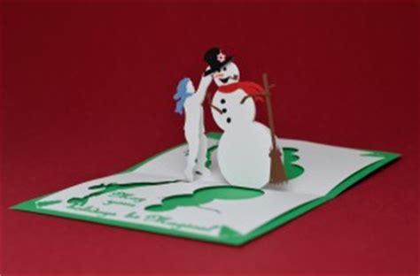 snowman creative pop up card template pop up card magical snowman tutorial creative