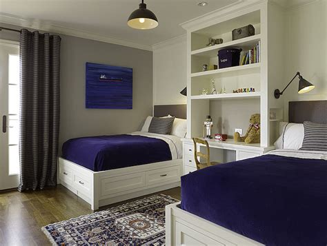 bedroom with 2 beds how to make the most of small bedroom spaces home bunch