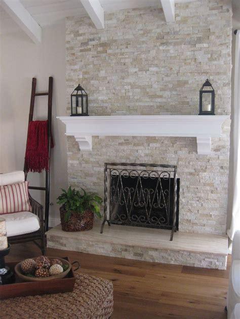 stone wall fireplace best 25 white stone fireplaces ideas on pinterest white