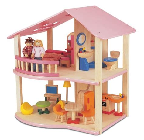 my first dolls house pintoy my first home wooden doll house doll review compare prices buy online