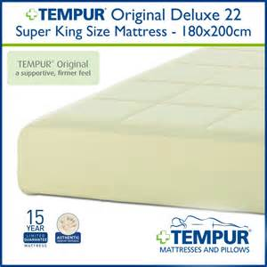 King Size Mattress Cover Price Tempur Original 22cm Deluxe King Size Mattress At