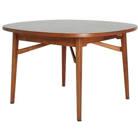 expandable dining table for sale jens risom teak expandable dining table for sale at 1stdibs