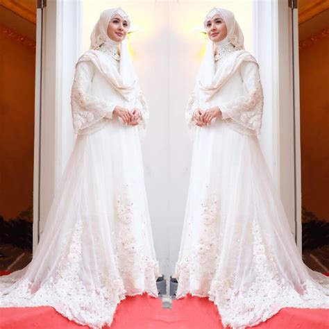 wedding laudya pakai baju ala pengantin laudya cynthia didoakan