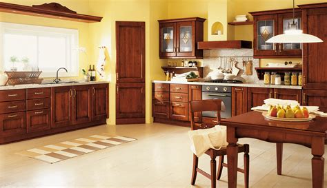 yellow and brown kitchen ideas decosee