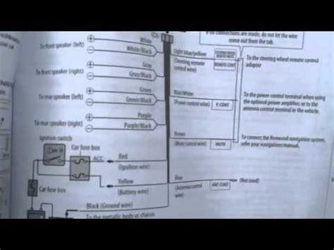 kenwood car stereo wiring diagram model kdc btu youtube