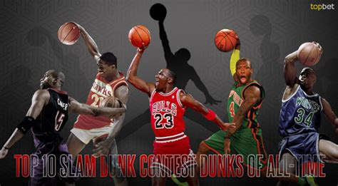 best of slam dunk contest top 10 slam dunk contest dunks of all time