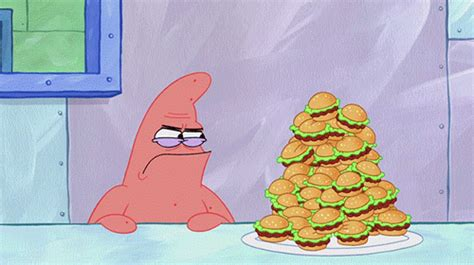 spongebob colored patties krabby patties on
