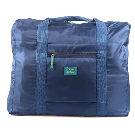 Koper Mini Koper Tambahan Koper Travel Gz tas travel lipat gantungan koper navy blue jakartanotebook