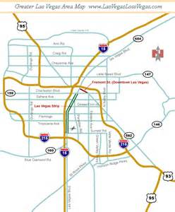 Map Of Las Vegas Area by Map Of Casinos Las Vegas And Surrounding Area Pictures To