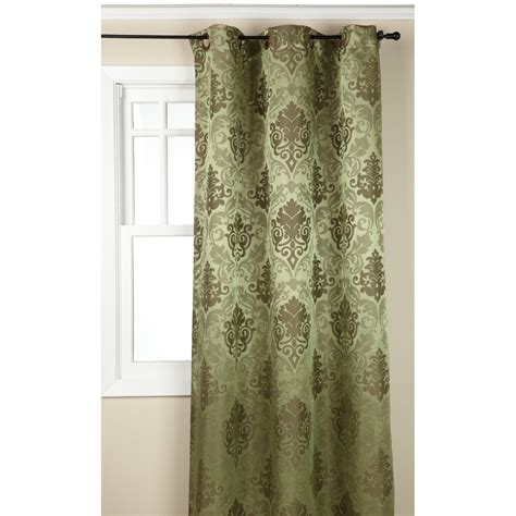 Regal Home Collections Drapes regal home collections olympia jacquard grommet 19