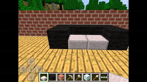 how do you make a couch on minecraft how to make a sofa in minecraft pocket edition memsaheb net