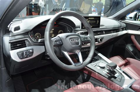 audi a4 2016 interior 2016 audi a4 allroad quattro interior at the geneva motor