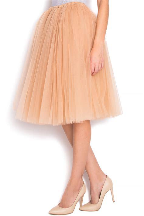 Pleated Tulle Skirt pleated tulle skirt midi skirts made to measure