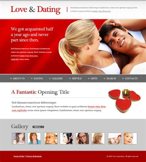 love dating website template 5603 love dating