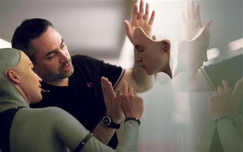 film robot ex machina alex garland s ex machina can a film about an attractive