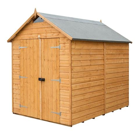 bosmere  ft    ft  wood secure storage shed