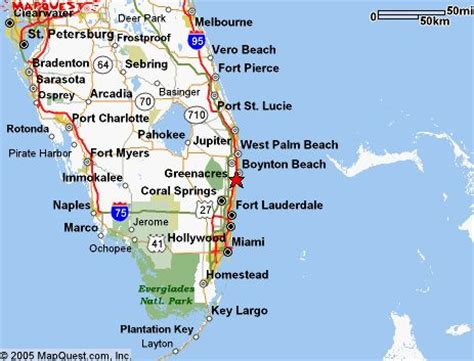 delray beach, fl is located on the east coast of south