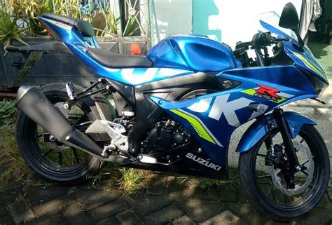 Sparepart Suzuki Gsx R150 gsx r150 blue arrow 3 motorgoodness