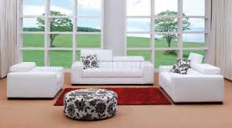 Modern Living Room Furniture In Miami Fabric Modern Living Room Set Miami White