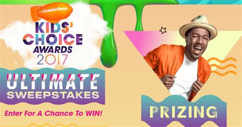 Www Nick Com Sweepstakes - nick com kca sweepstakes win a trip to the 2017 kids choice awards