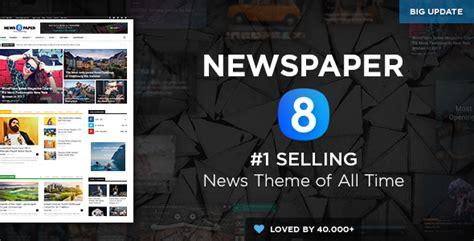 wordpress theme newspaper magazine newspaper v8 1 wordpress news magazine theme blogger
