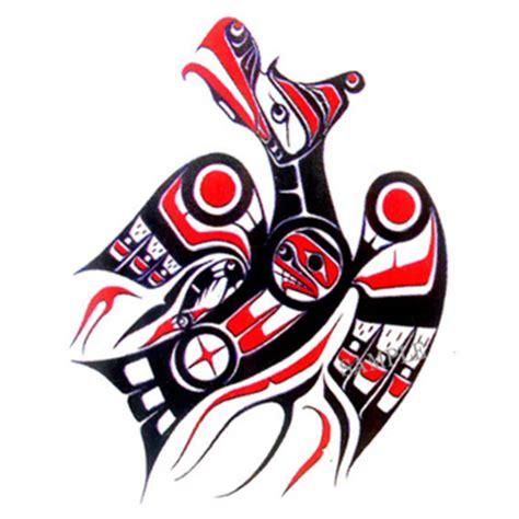 楽天市場 カナダ 先住民 ネイティブ インディアン 雑貨 tattoo 刺青 タトゥシール
