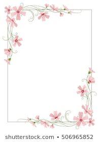 flower border images stock vectors shutterstock