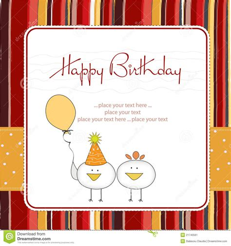 greeting card supplies for birthday greeting card stock vector image