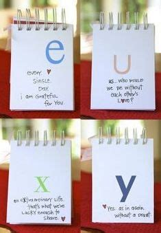 Gift Items Starting With Letter J gift idea use each letter of the alphabet to start a