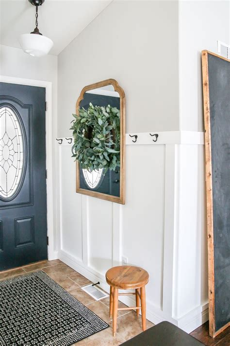 decorate  small entryway  glass jar