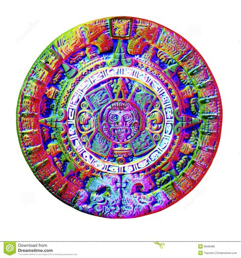 imagenes de flores aztecas calendario azteca foto de archivo imagen de museo