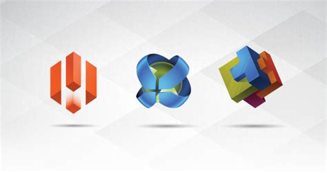 3d logo templates 3d logo templates set vol 1 logo templates pixeden