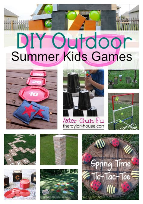 summer backyard games diy outdoor summer kids games pictures photos and images for facebook tumblr
