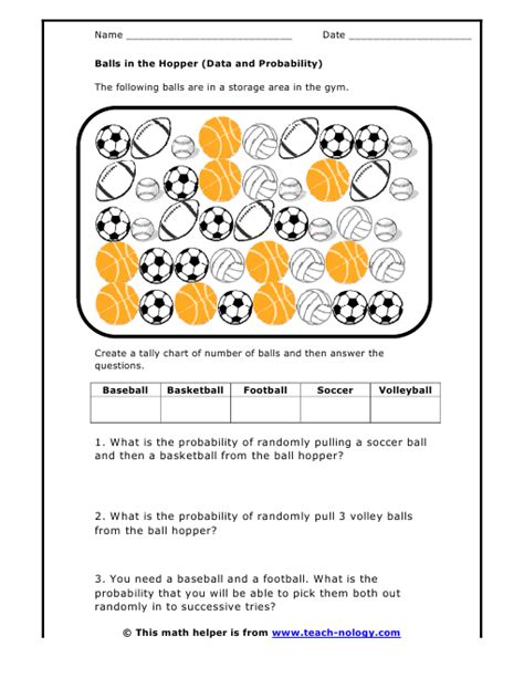 Probability Of Events Worksheet by Probability Of Independent And Dependent Events Worksheet