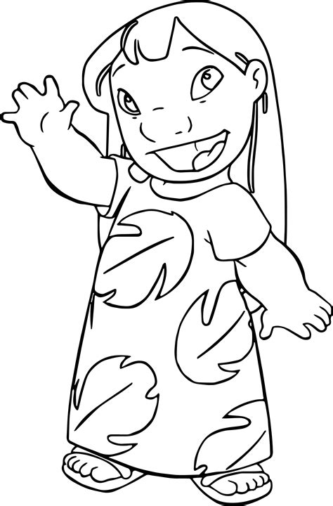 coloring pages of lilo and stitch lilo and stitch coloring pages wecoloringpage