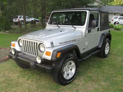 Used Jeeps For Sale Buffalo Ny Purchase Used 2006 Jeep Wrangler Rubicon Sport Utility 2
